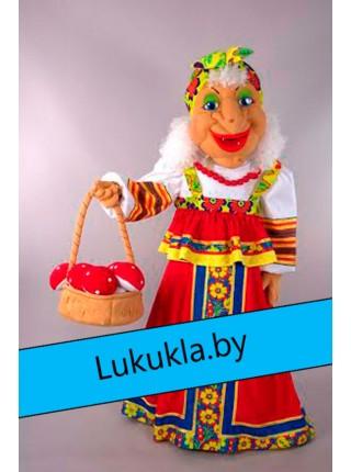 """Ростовая  кукла """"Баба-Яга из сказки"""""""