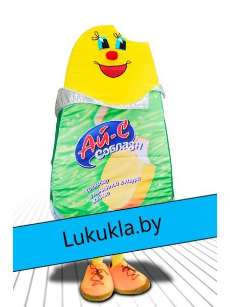 """Ростовая кукла """"Мороженое Соблазн"""""""